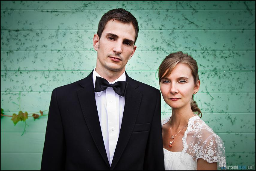 Małgorzata i Zachary- deszczowa para