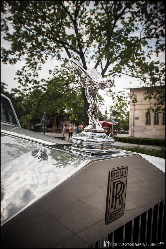jaki samochód wybrać do ślubu? Rolls-Royce Silver Cloud