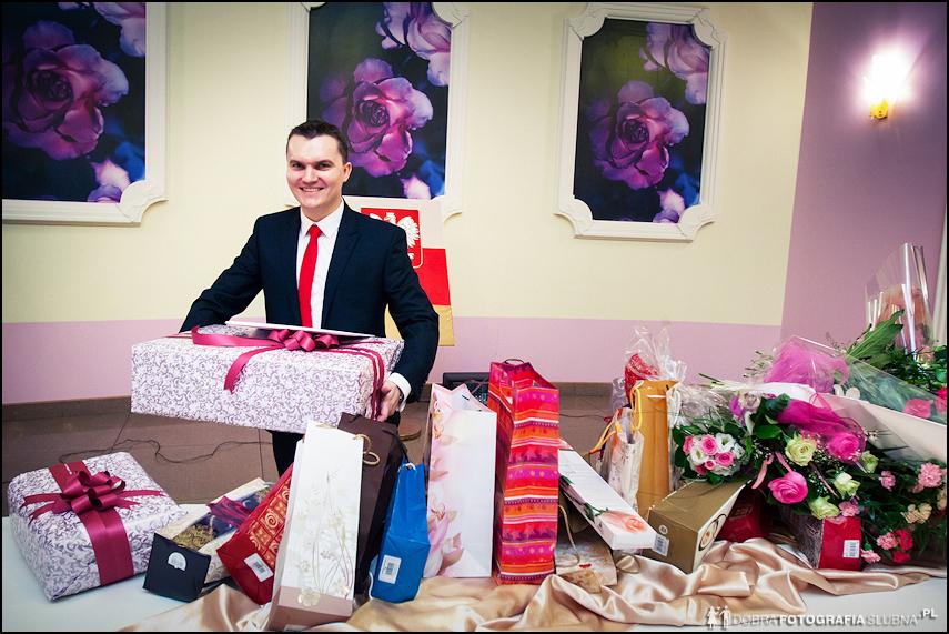 świadek i prezenty