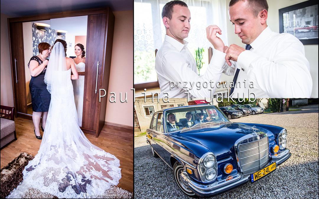 Przed ślubem Pauliny i Jakuba