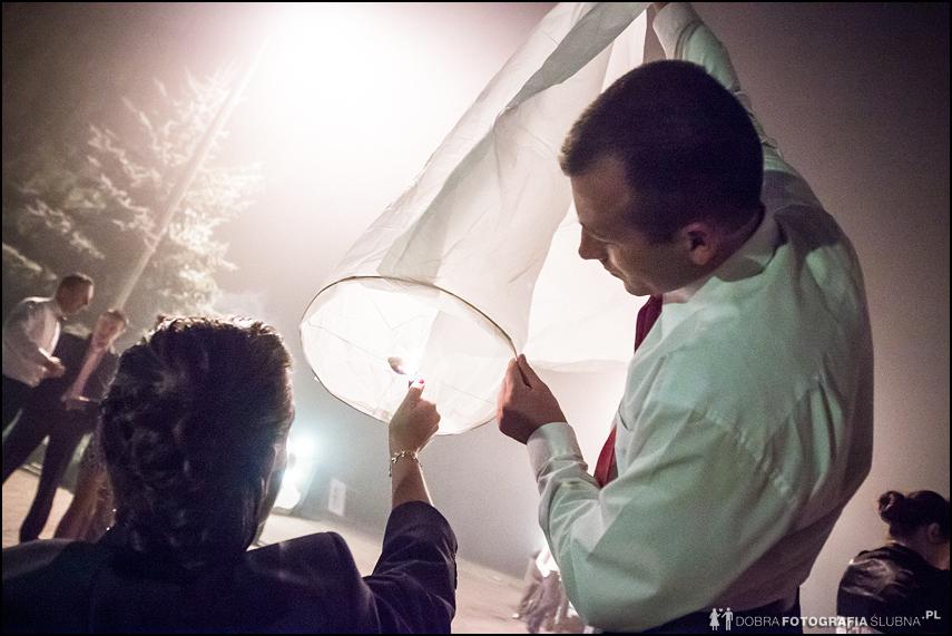 fotografia ślubna- lampiony