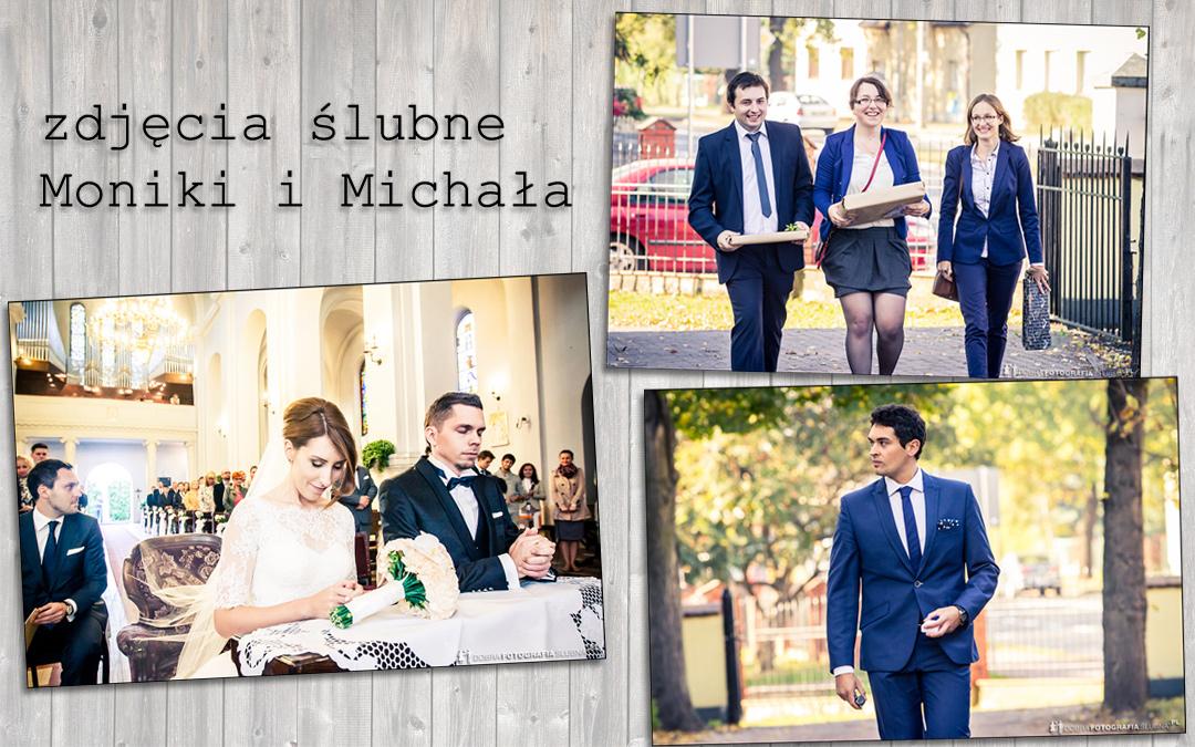 Zdjęcia ślubne Moniki i Michała