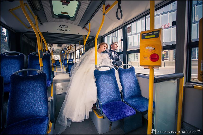 miejski autobus sesja plenerowa warszawa