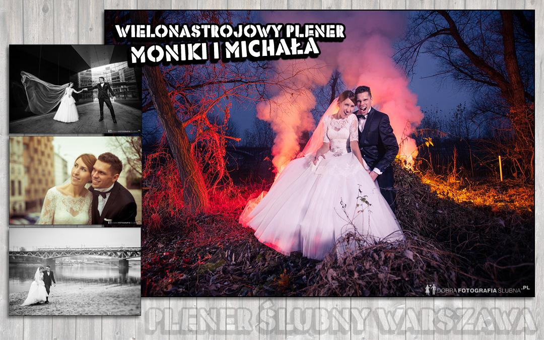 Wielonastrojowy plener ślubny | Warszawa