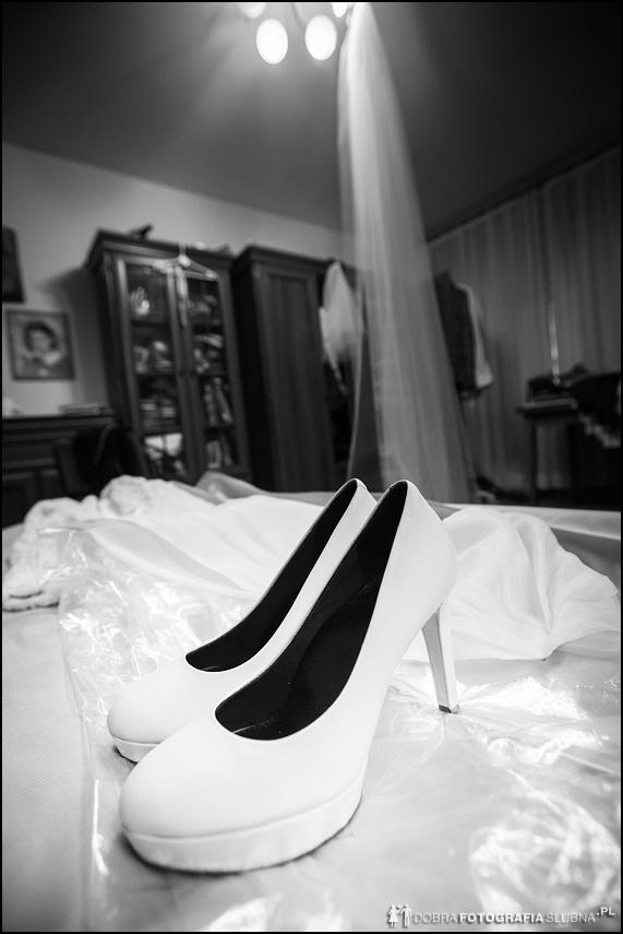 pantofelki panny młodej
