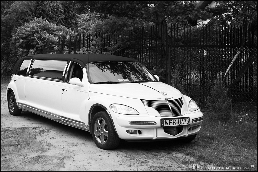 limuzyna na ślub chrysler pt cruiser