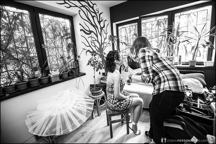 makijaż do ślubu w domu