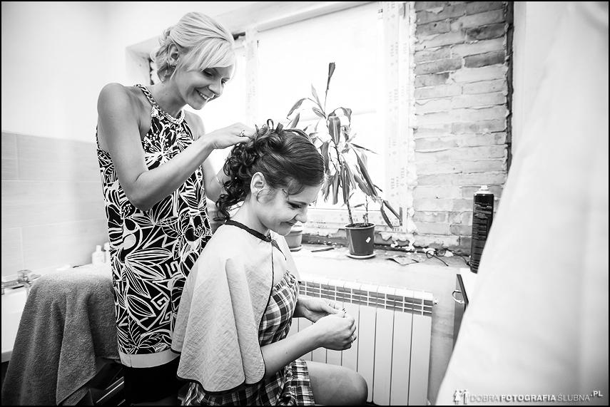 przygotowania do ślubu fryzura