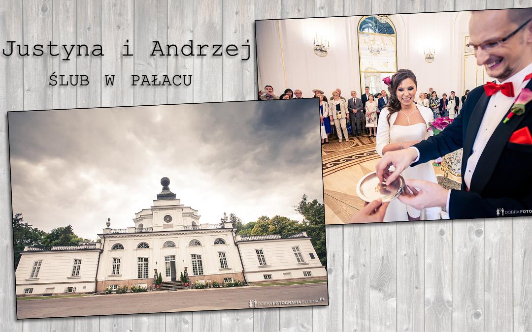 Ślub cywilny w Pałacu w Jabłonnej