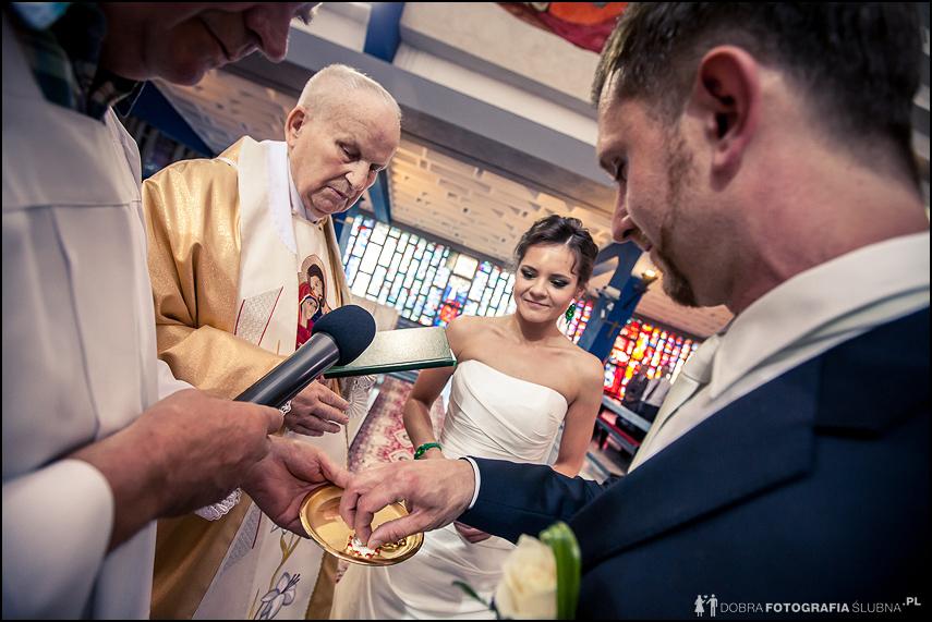 wymiana obrączek ślubnych