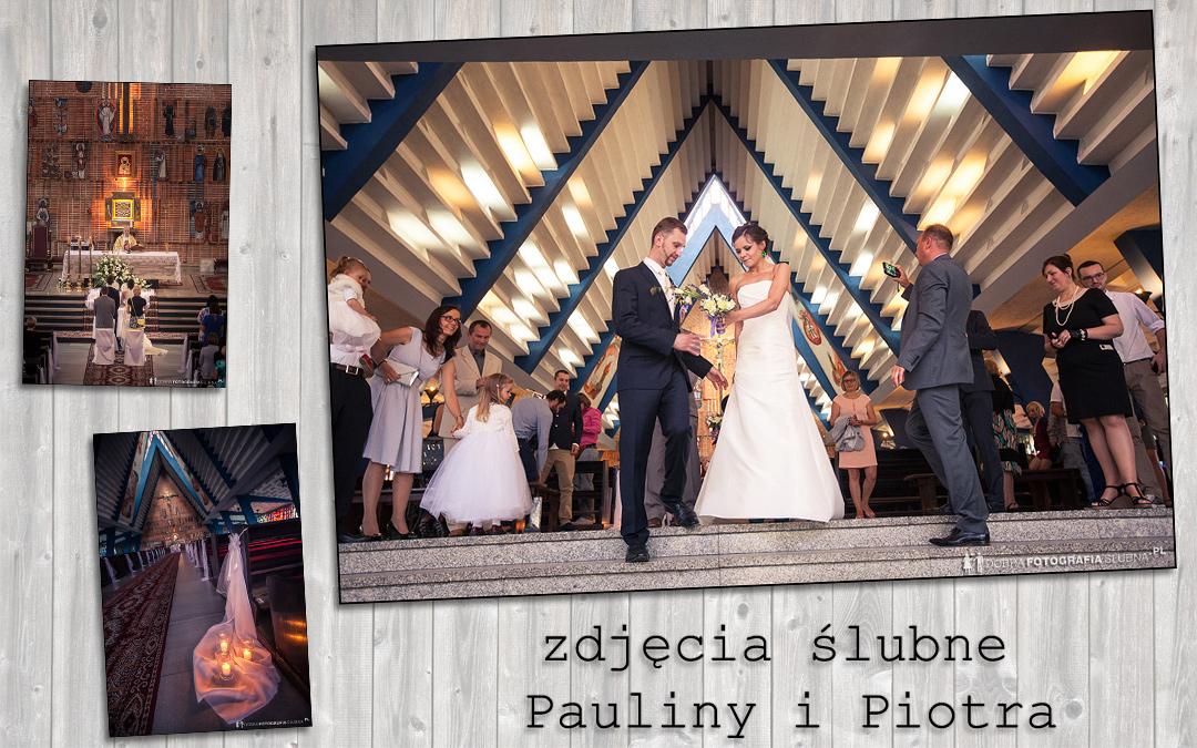Ślub w kościele w Sulejówku – Paulina i Piotr