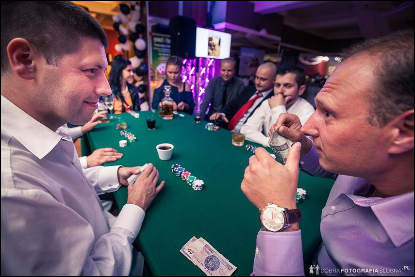 turniej pokera na weselu
