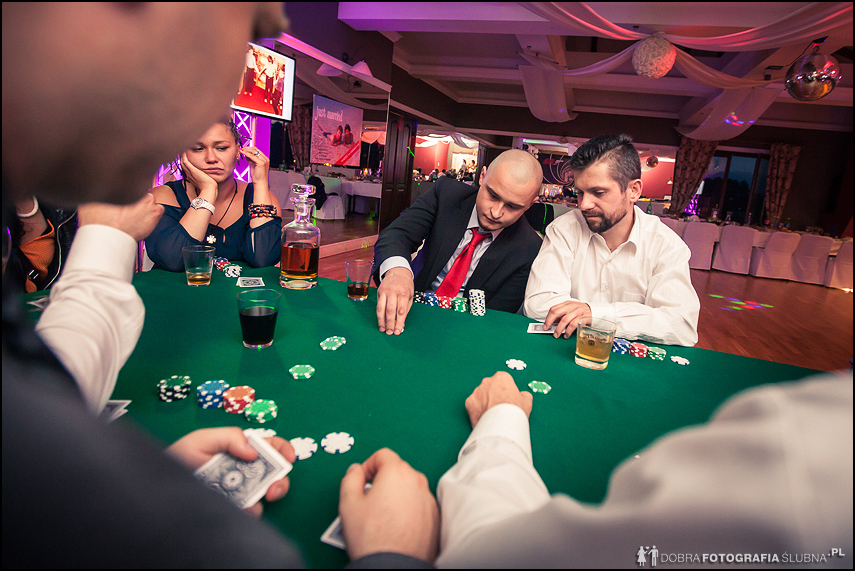 atrakcje weselne- turniej pokera gra