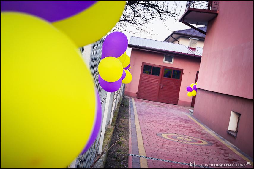 dekoracja balony