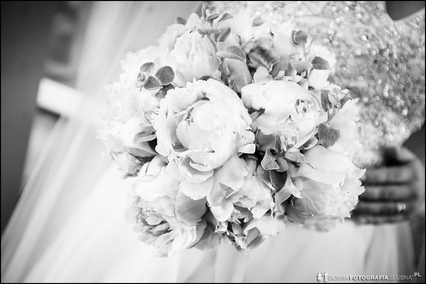 wiązanka ślubna panny młodej