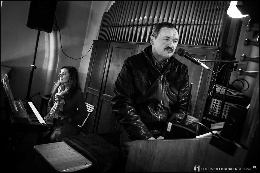 organista na ślubie