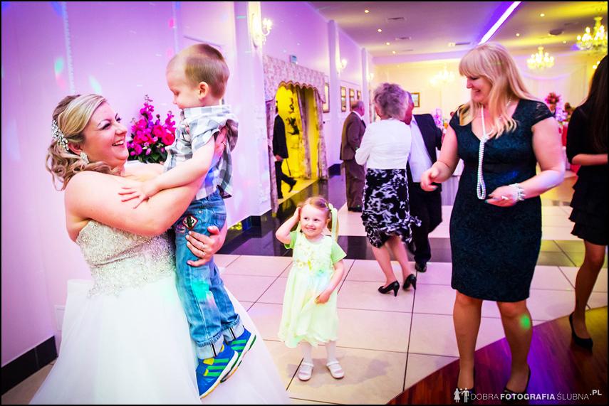 tańce weselne z dziećmi