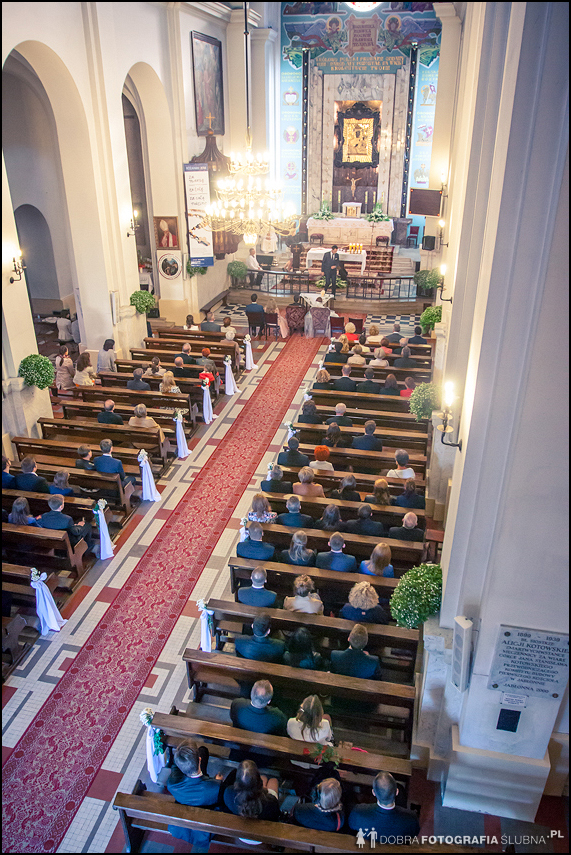 kościół- widok z góry