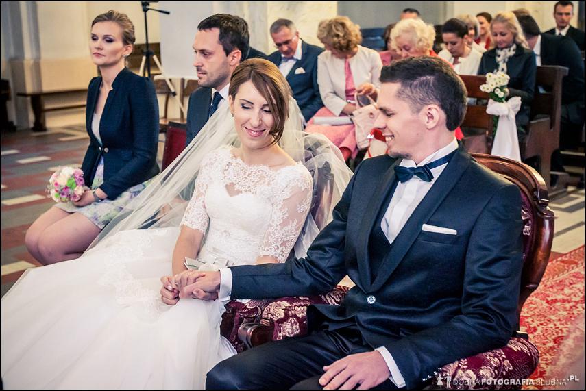 chwilkę po ślubie